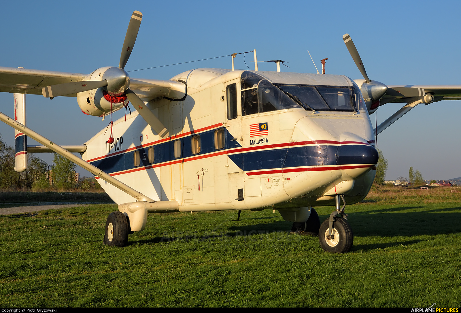 Private T7-HOP aircraft at Bielsko-Biała - Aleksandrowice