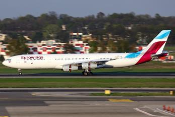 OO-SCW - Eurowings Airbus A340-300