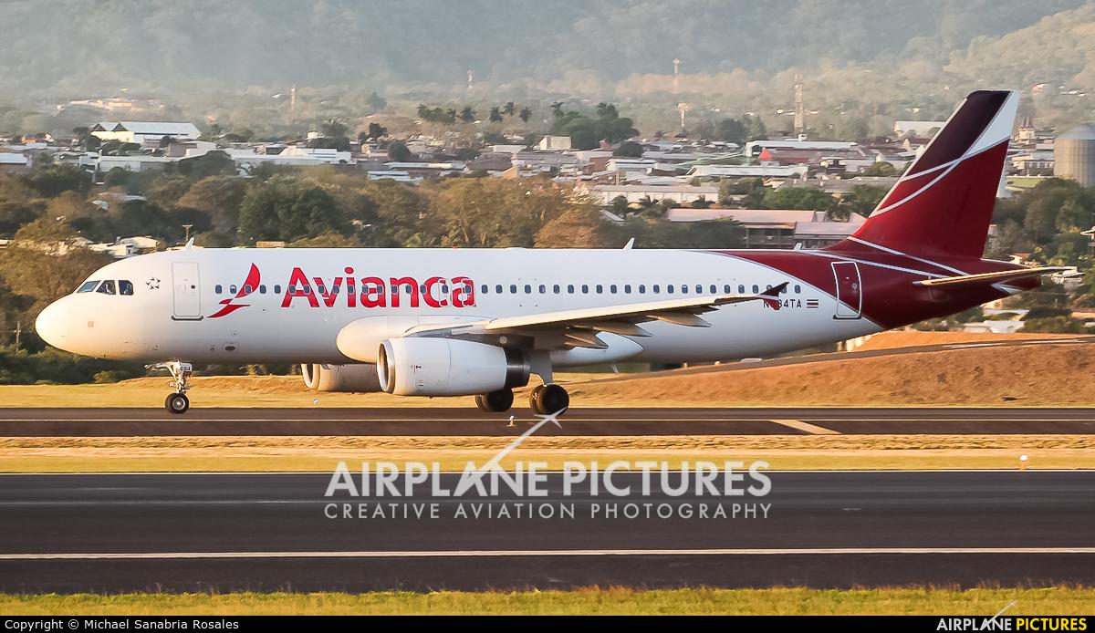 Avianca N684TA aircraft at San Jose - Juan Santamaría Intl