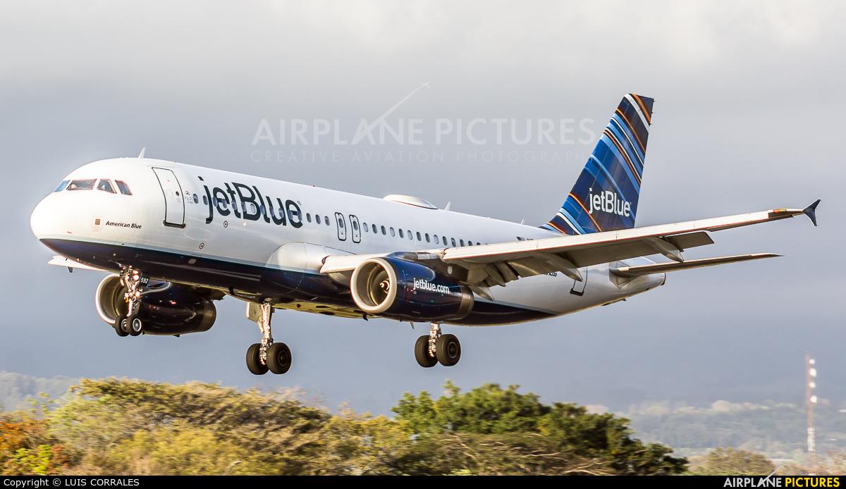 JetBlue Airways N592JB aircraft at San Jose - Juan Santamaría Intl