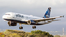 N592JB - JetBlue Airways Airbus A320 aircraft