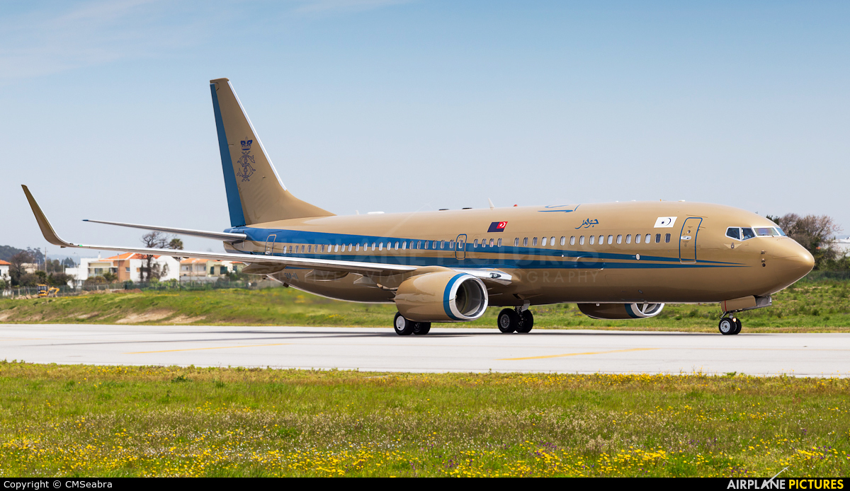 Sultan of Johor 9M-III aircraft at Porto
