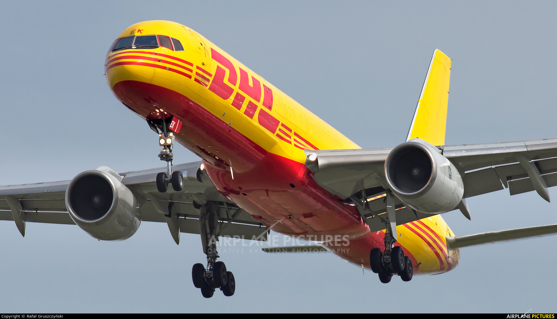 DHL Cargo D-ALEK aircraft at Leipzig - Halle