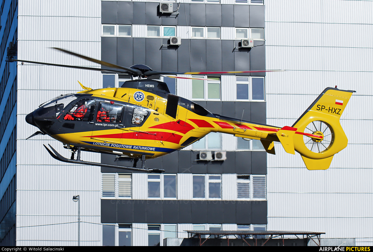Polish Medical Air Rescue - Lotnicze Pogotowie Ratunkowe SP-HXZ aircraft at Warsaw - Off Airport