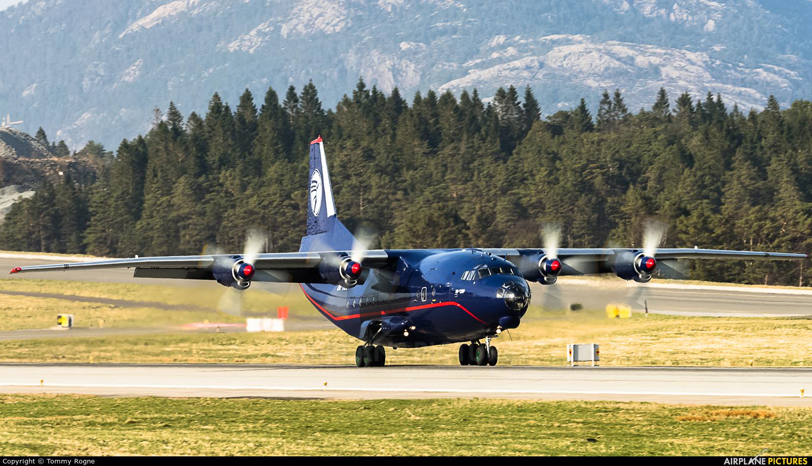 Ukraine Air Alliance UR-CZZ aircraft at Bergen - Flesland