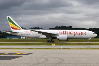 ET-ANN - Ethiopian Airlines Boeing 777-200LR