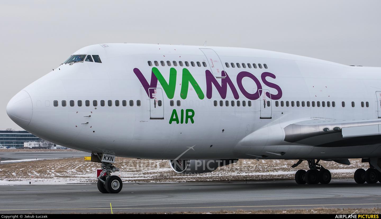 Wamos Air EC-KXN aircraft at Warsaw - Frederic Chopin