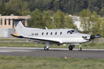3A-MIG - Private Pilatus PC-12