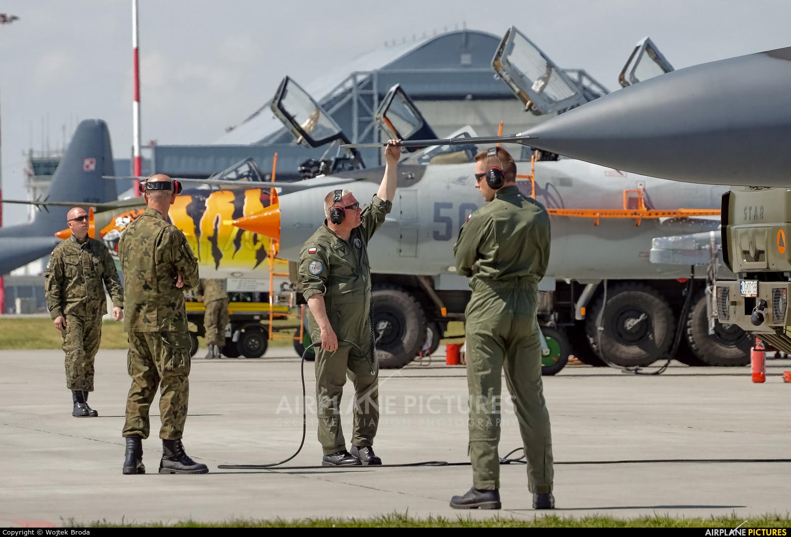 Poland - Air Force - aircraft at Powidz