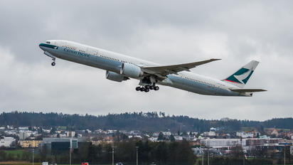 B-KQM - Cathay Pacific Boeing 777-300ER
