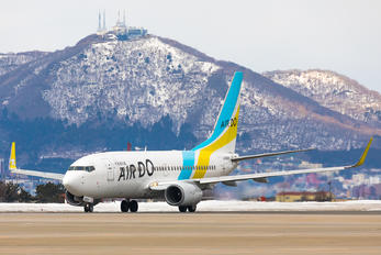 JA08AN - Air Do - Hokkaido International Airlines Boeing 737-700