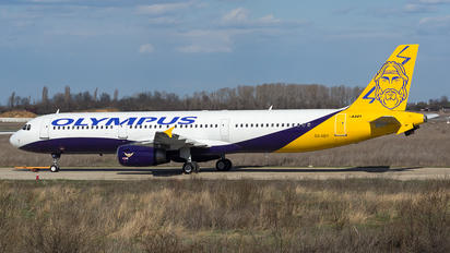 SX-ABY - Olympus Airways Airbus A321