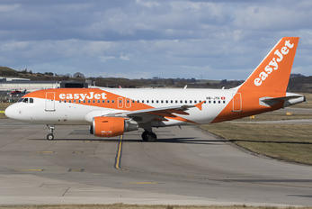 HB-JYK - easyJet Switzerland Airbus A319