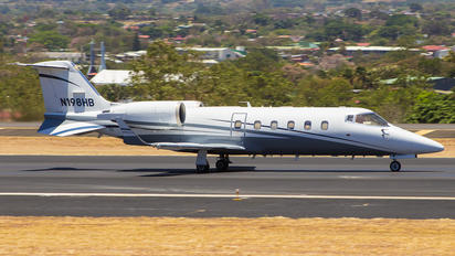 N198HB - Private Learjet 60