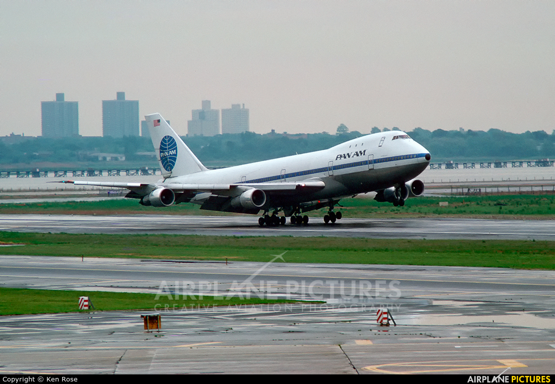 Pan Am N736PA aircraft at New York - John F. Kennedy Intl