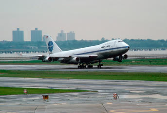 N736PA - Pan Am Boeing 747-100