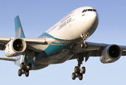 A40-DF - Oman Air Airbus A330-200 aircraft