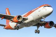 G-EZRG - easyJet Airbus A320 aircraft