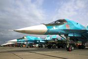 18 - Russia - Air Force Sukhoi Su-34 aircraft