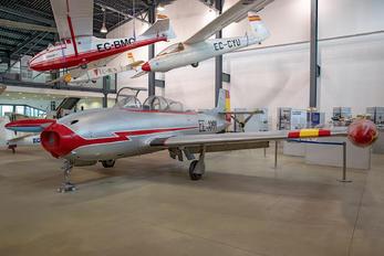 EC-AMM - Fundació Parc Aeronàutic de Catalunya Hispano Aviación HA-200D Saeta