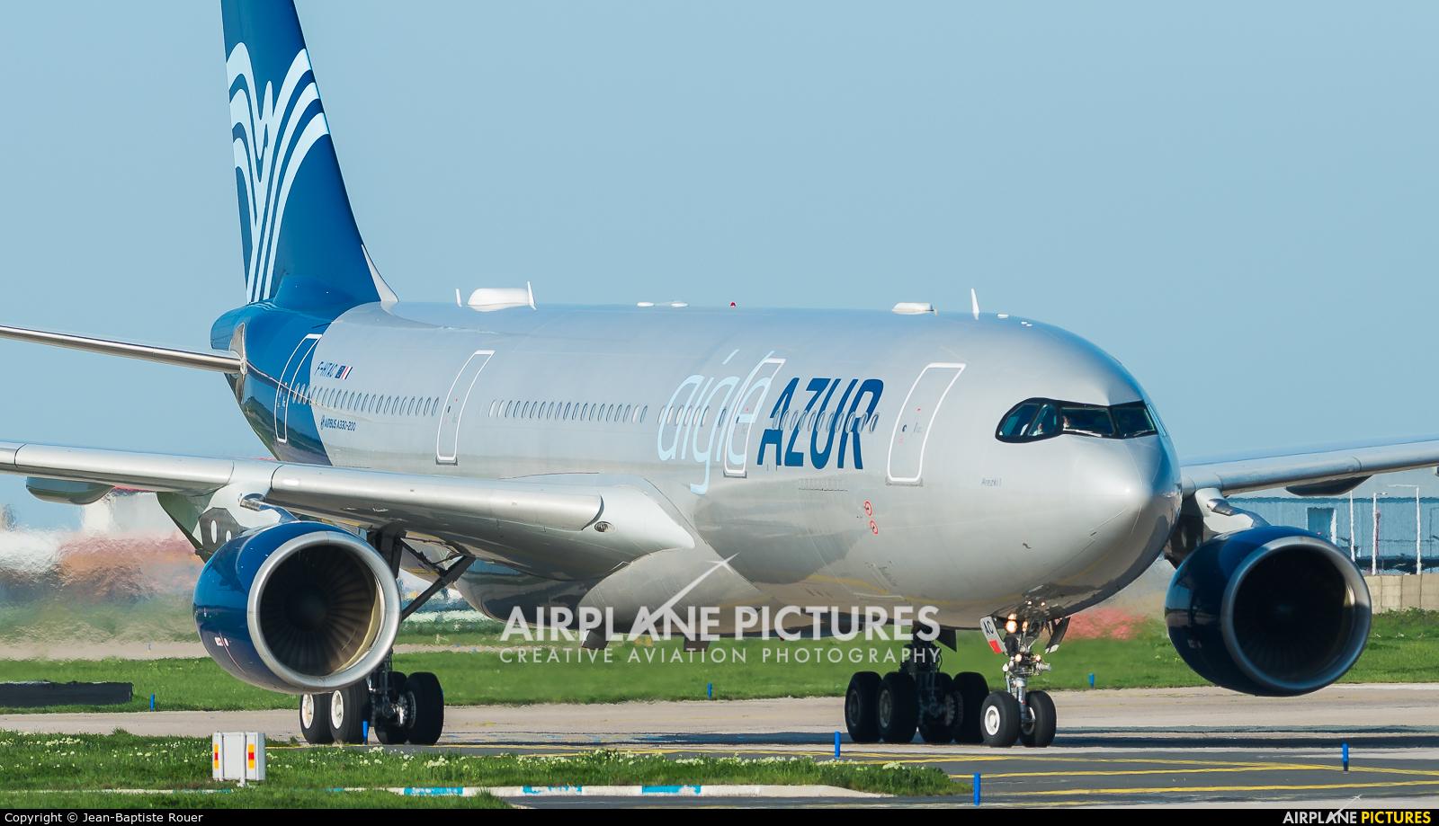 Aigle Azur F-HTAC aircraft at Paris - Orly