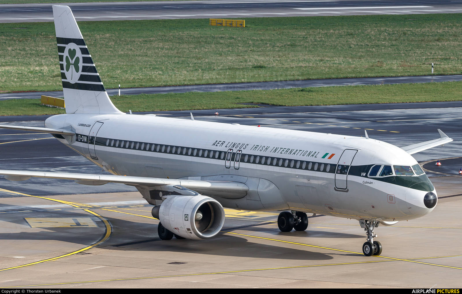Aer Lingus EI-DVM aircraft at Düsseldorf