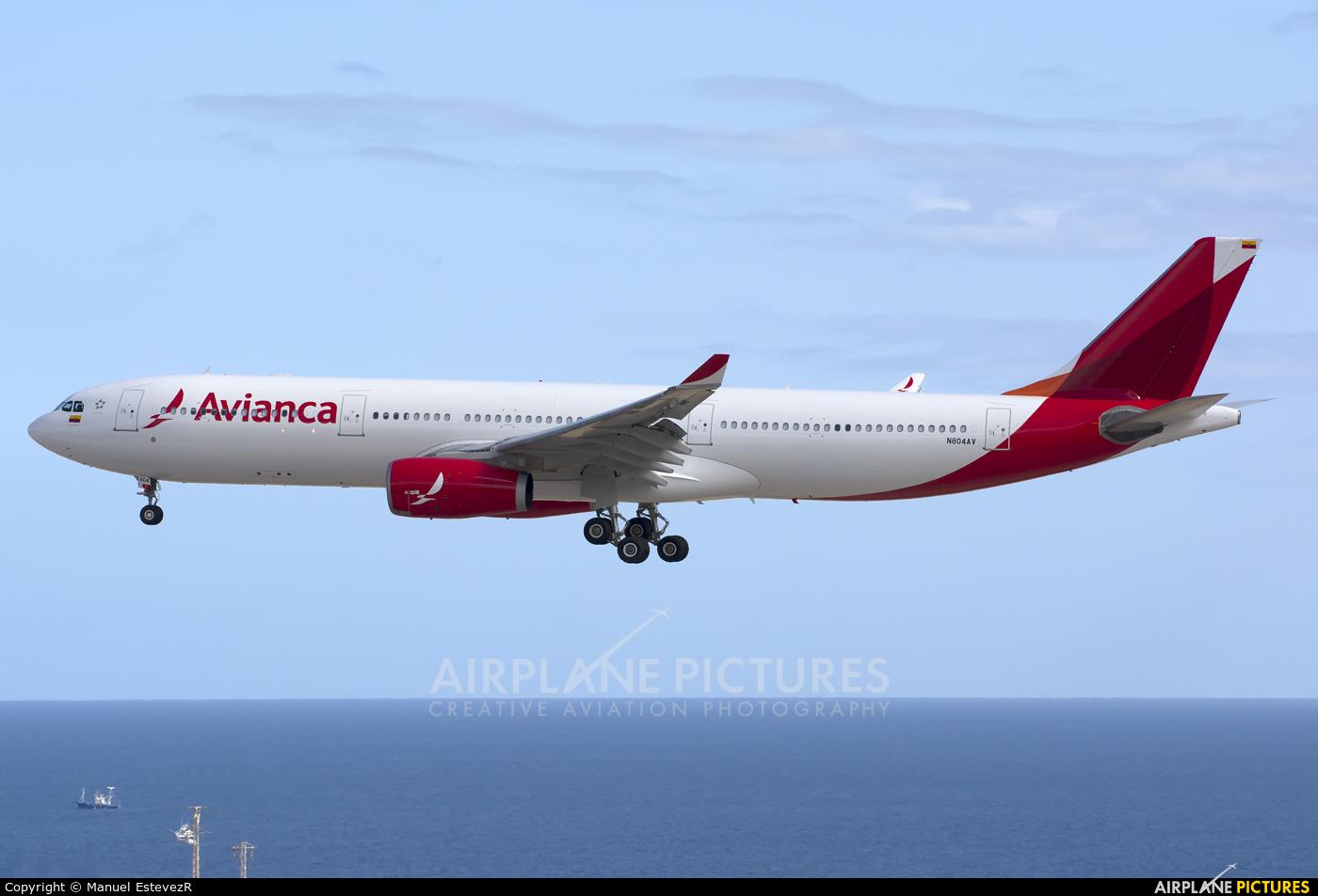 Avianca N804AV aircraft at Tenerife Sur - Reina Sofia