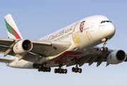 A6-EUZ - Emirates Airlines Airbus A380 aircraft