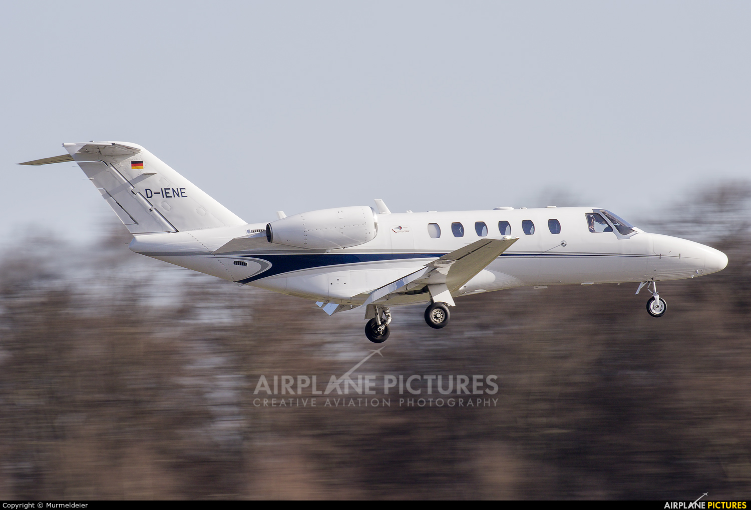 Private D-IENE aircraft at Luxembourg - Findel