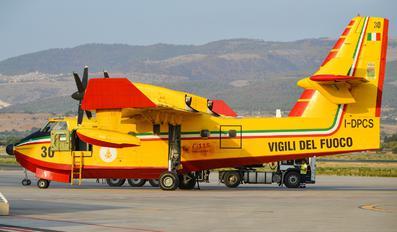 I-DPCS - Italy - Vigili del Fuoco Canadair CL-415 (all marks)
