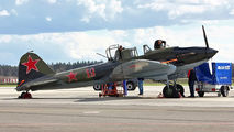 Ilyushin Il-2 makes a fuel stop in Minsk title=