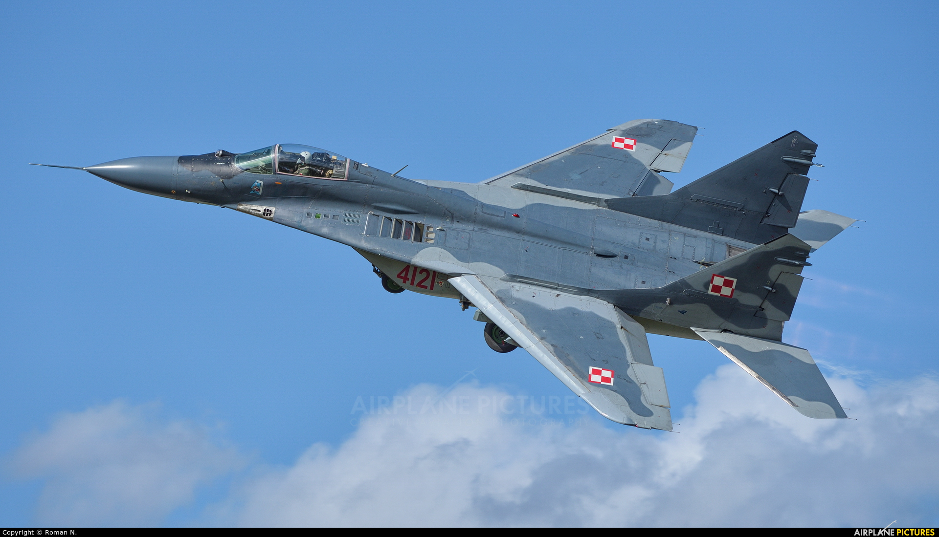 Poland - Air Force 4121 aircraft at Świdwin
