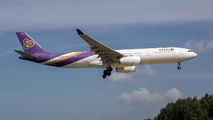 HS-TBD - Thai Airways Airbus A330-300 aircraft