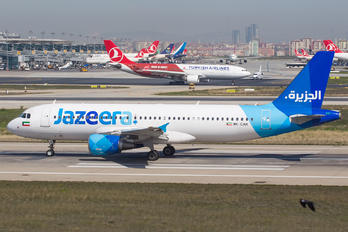 9K-CAK - Jazeera Airways Airbus A320