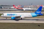 9K-CAK - Jazeera Airways Airbus A320 aircraft