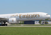 A6-ECF - Emirates Airlines Boeing 777-300ER aircraft