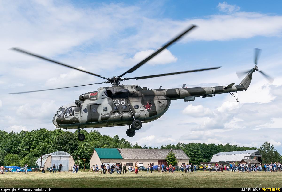 Belarus - Air Force 38 aircraft at Karolino