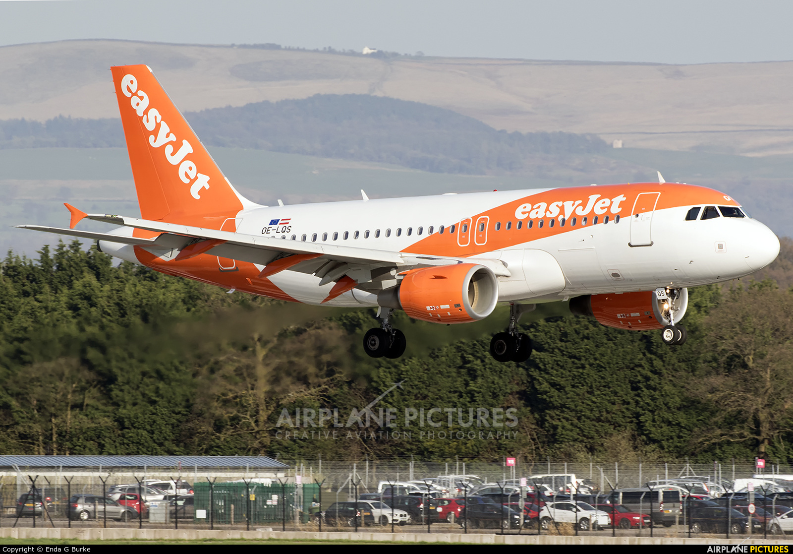 easyJet Europe OE-LQS aircraft at Manchester