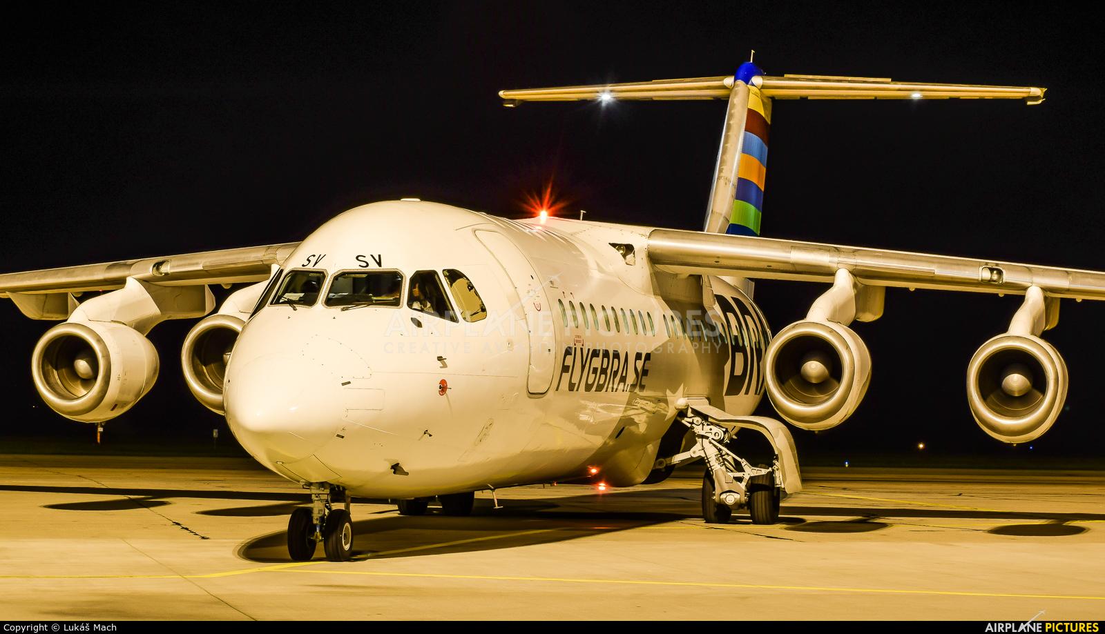 BRA (Sweden) SE-DSV aircraft at Pardubice