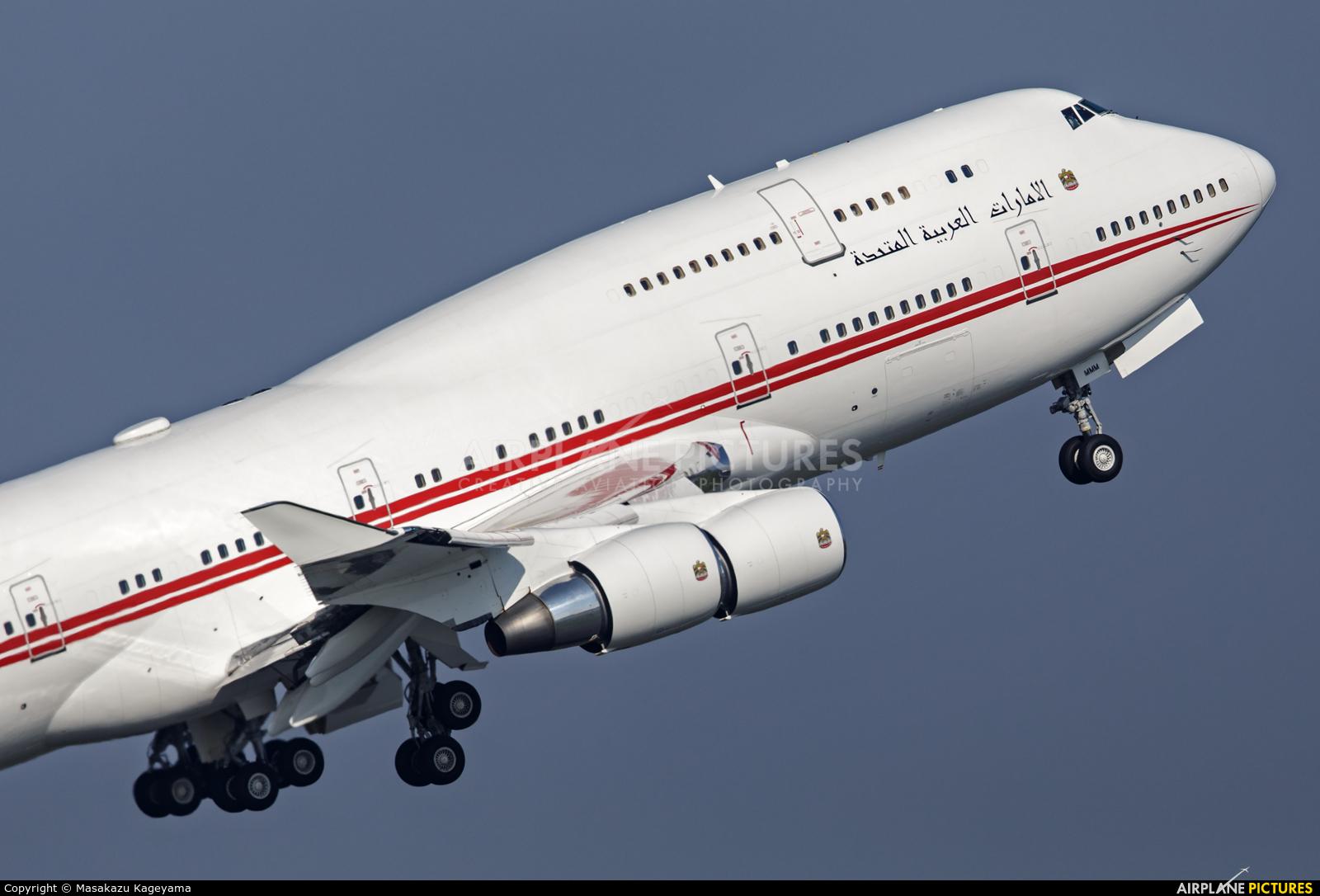 United Arab Emirates - Government A6-MMM aircraft at Tokyo - Haneda Intl