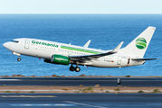 D-AGEU - Germania Boeing 737-700 aircraft