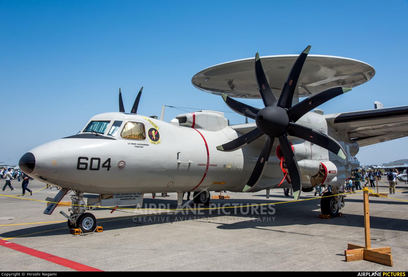 USA - Navy 168990 aircraft at Atsugi AB