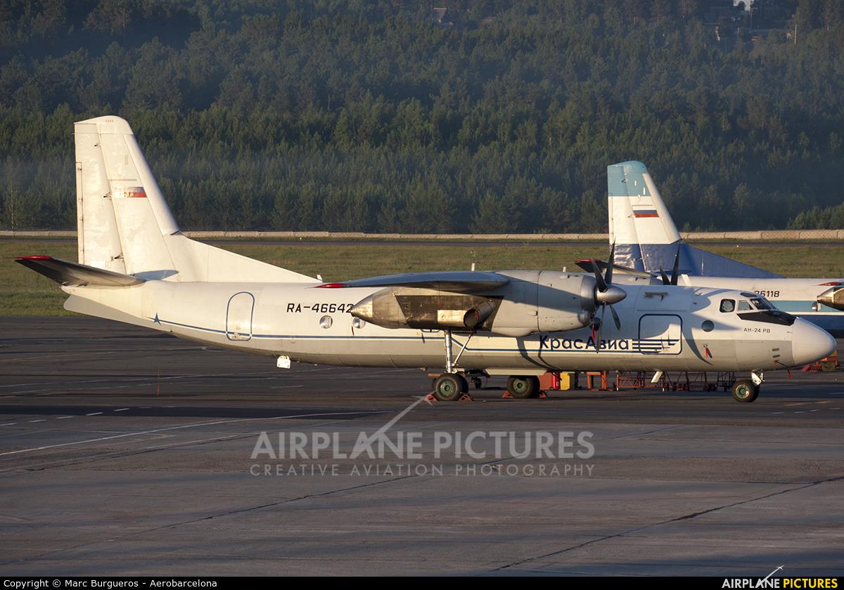 KrasAvia RA-46642 aircraft at Krasnoyarsk - Yemelyanovo