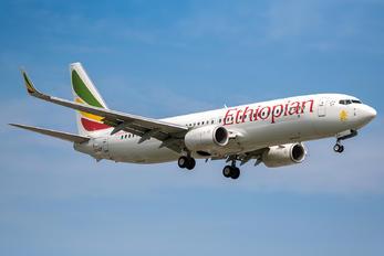 ET-AQP - Ethiopian Airlines Boeing 737-800
