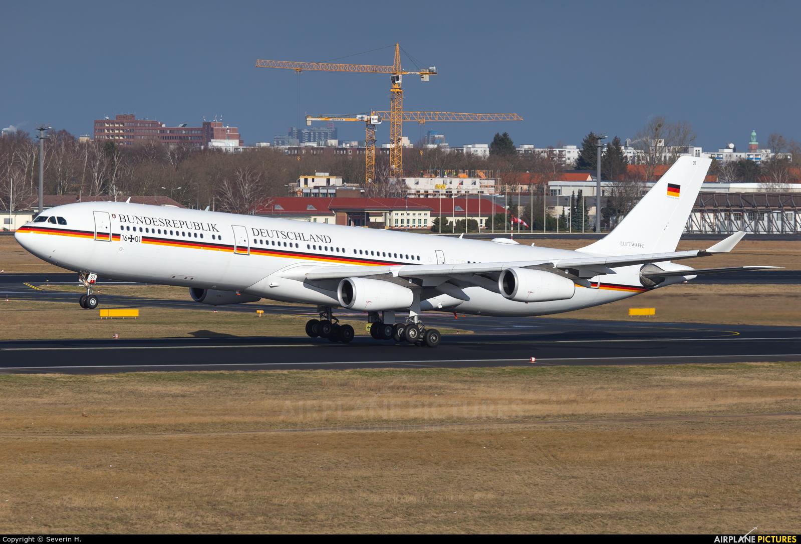 Germany - Air Force 16+01 aircraft at Berlin - Tegel