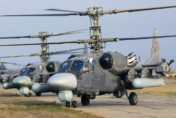 11 - Russia - Air Force Kamov Ka-52 Alligator