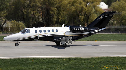 G-LFBD - Centreline Air Charter Cessna 525A Citation CJ2