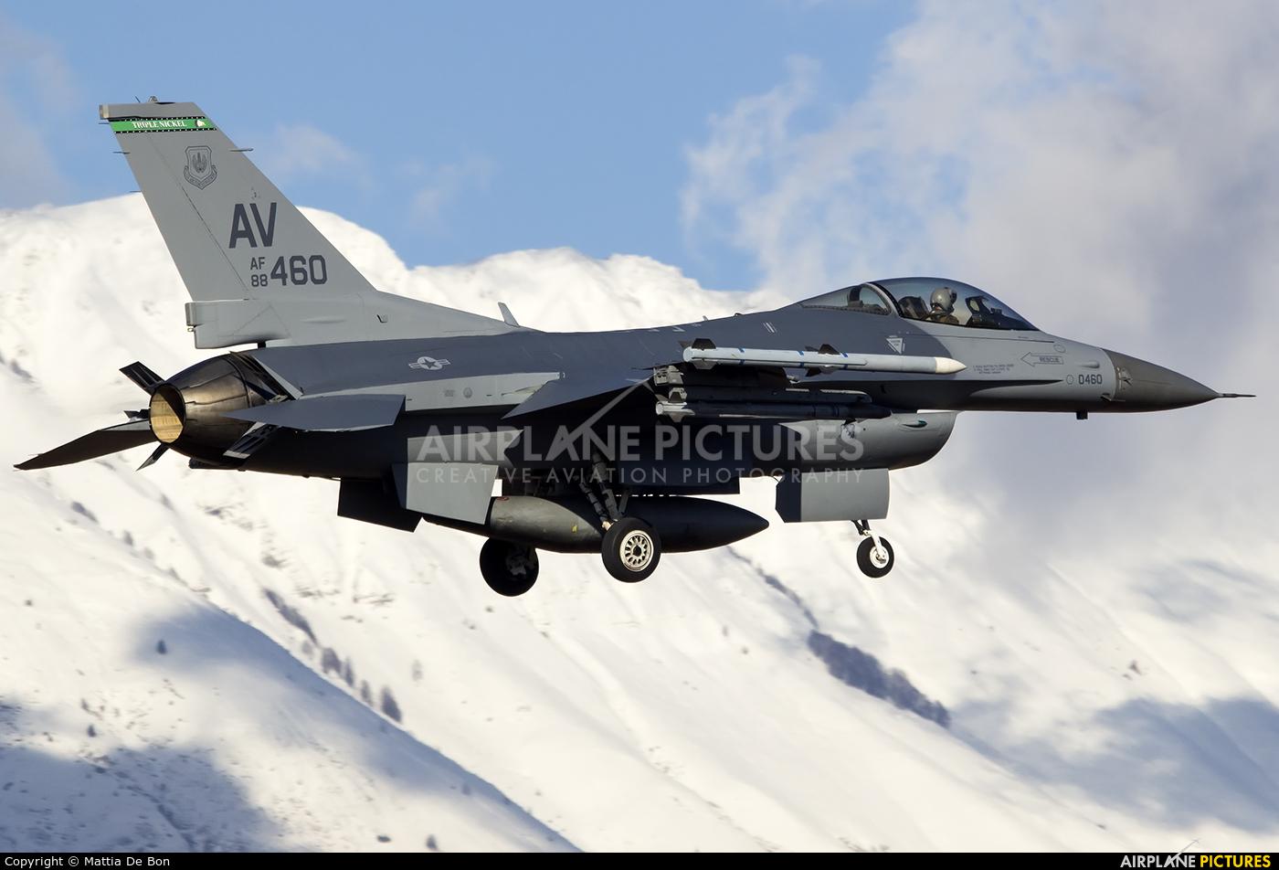 USA - Air Force 88-0460 aircraft at Aviano
