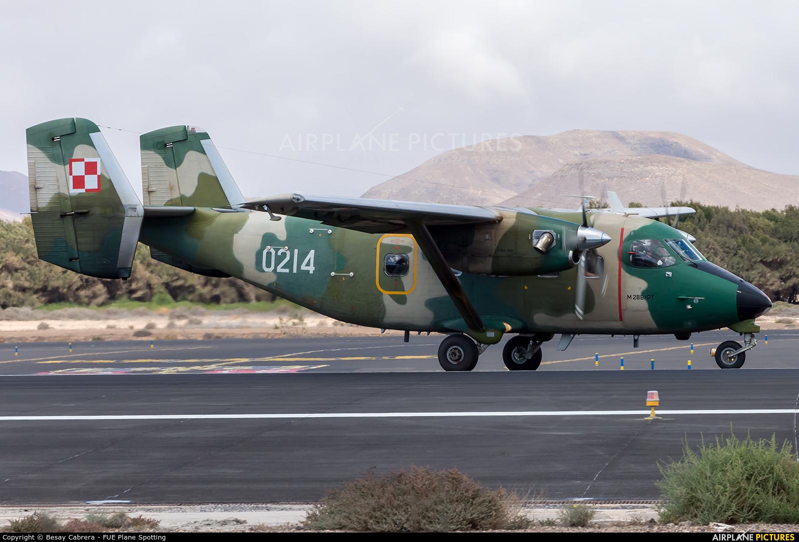 Poland - Air Force 0214 aircraft at Fuerteventura - Puerto del Rosario