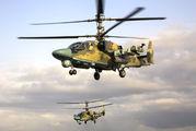 77 - Russia - Air Force Kamov Ka-52 Alligator aircraft